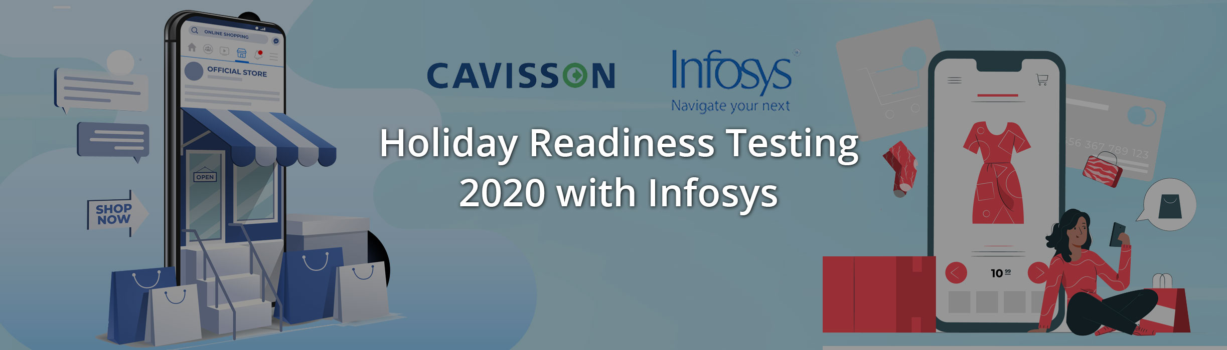 Holiday Readiness Testing - 2020 with Infosys